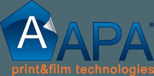 APA PRINT logo